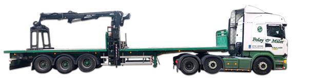 Artic Crane Vehicle