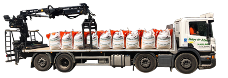 Eight wheeled truck